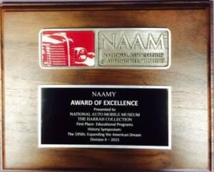 NAAMY Award 2015